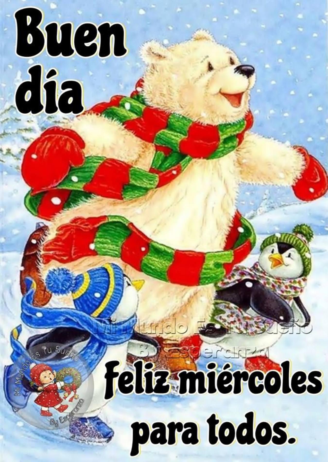 Buen Día Feliz Miércoles Navidad 187