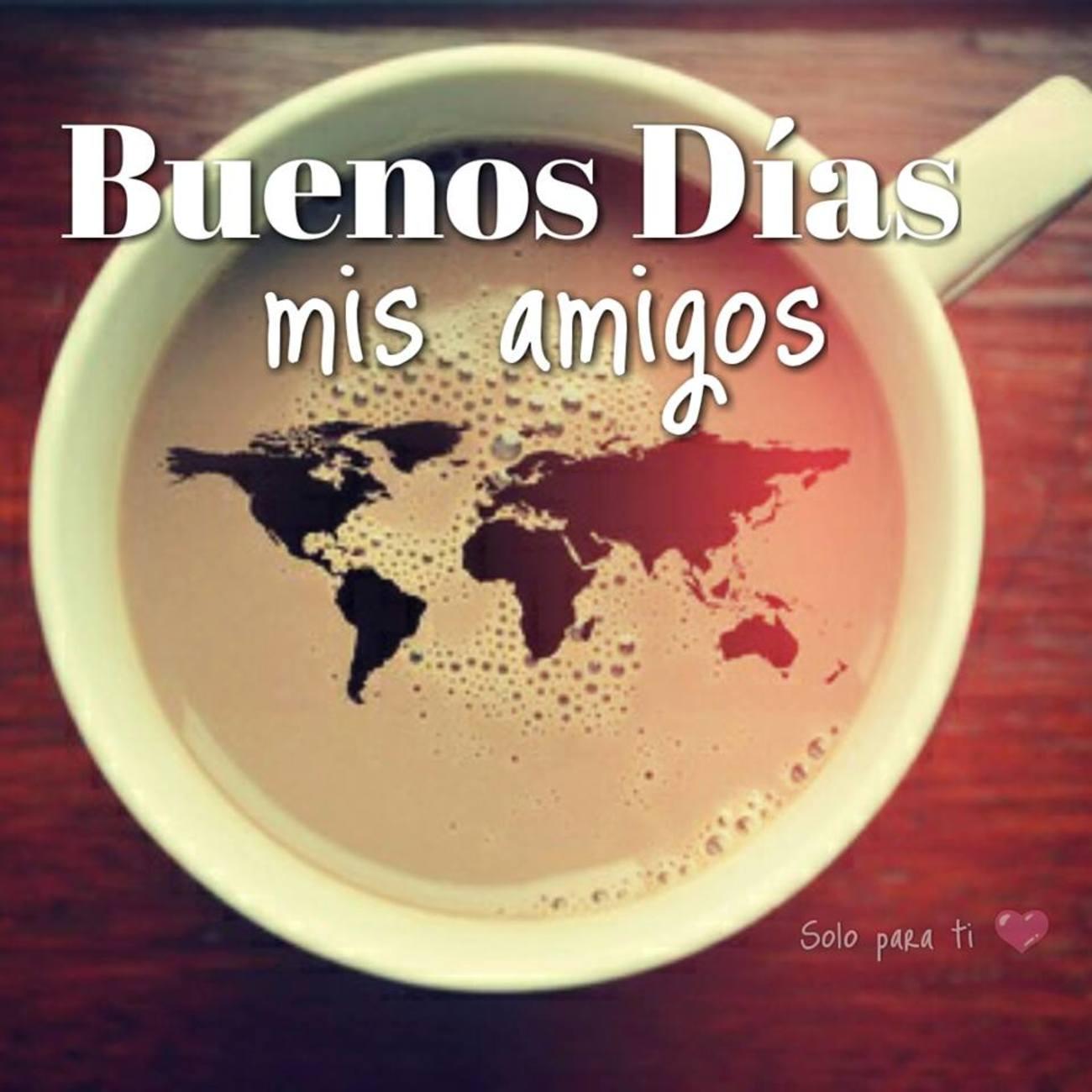 Buenos Días imágenes con café 376 - BonitasImagenes.net