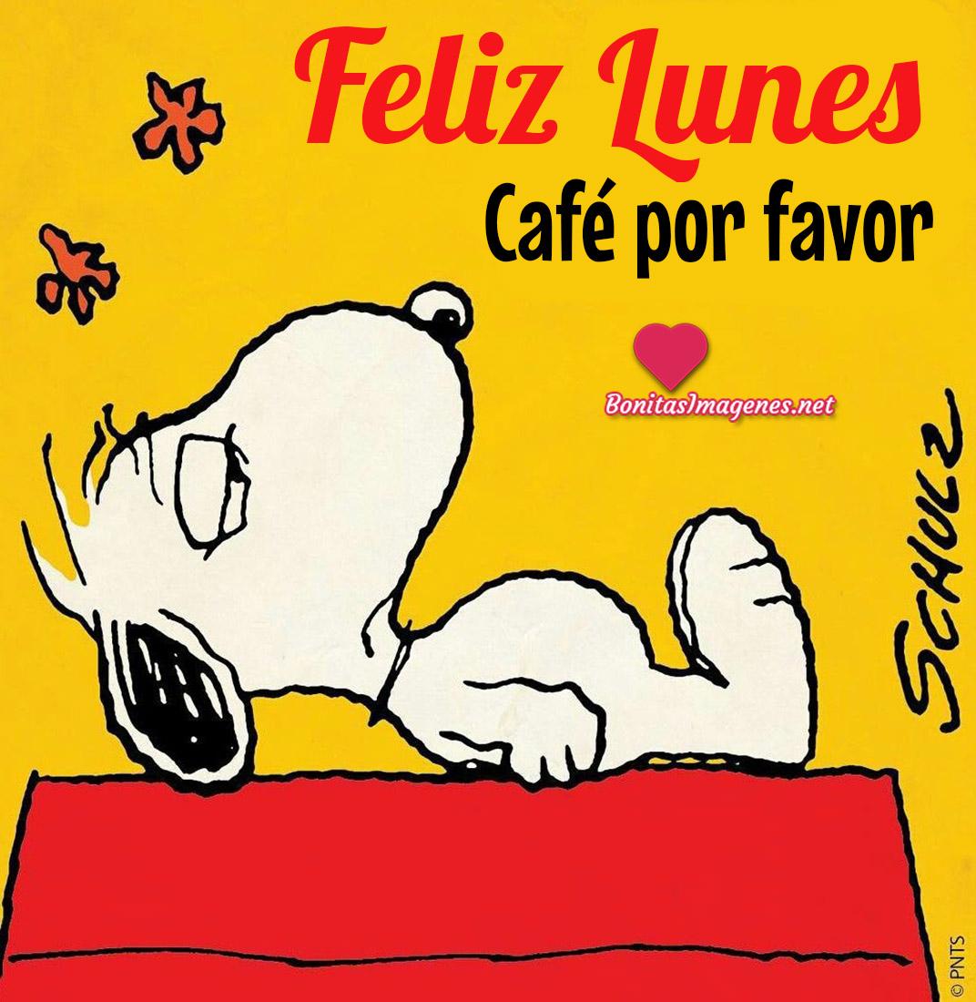 Feliz Lunes imágenes nuevas con Snoopy