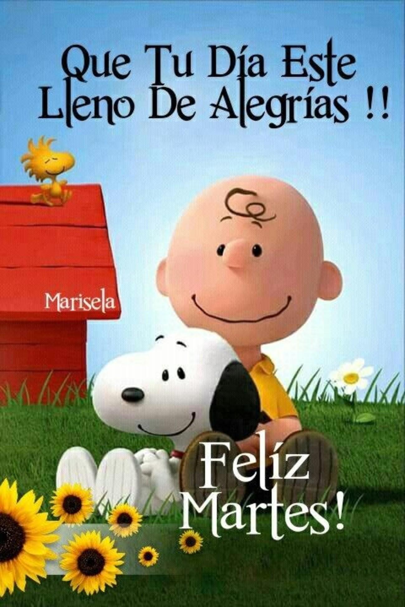 Feliz Martes Snoopy 103