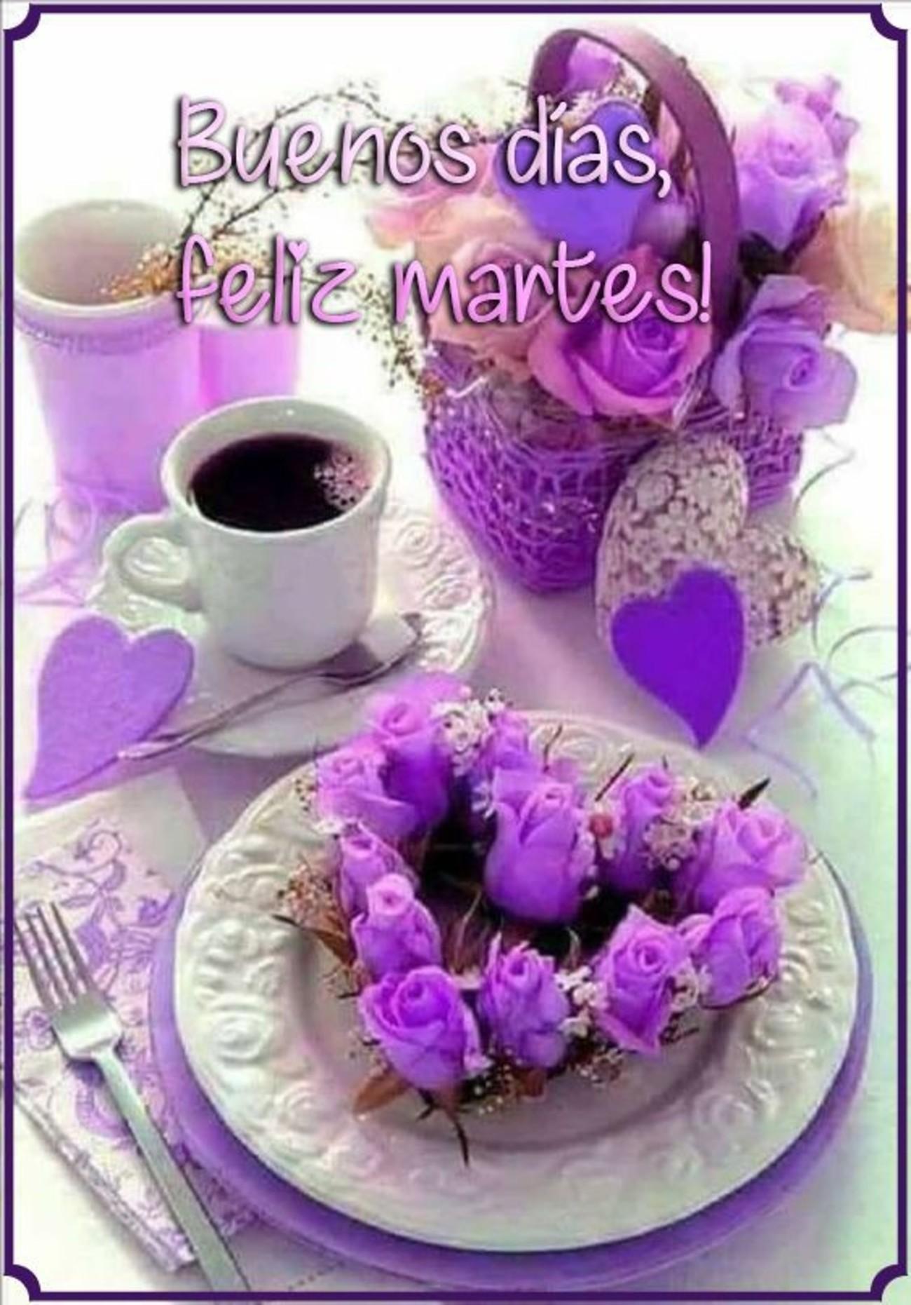 Feliz Martes amigos - BonitasImagenes.net