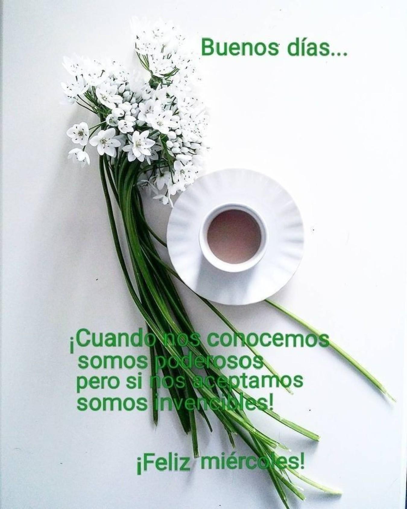 Feliz Miércoles con café imágenes lindas 132