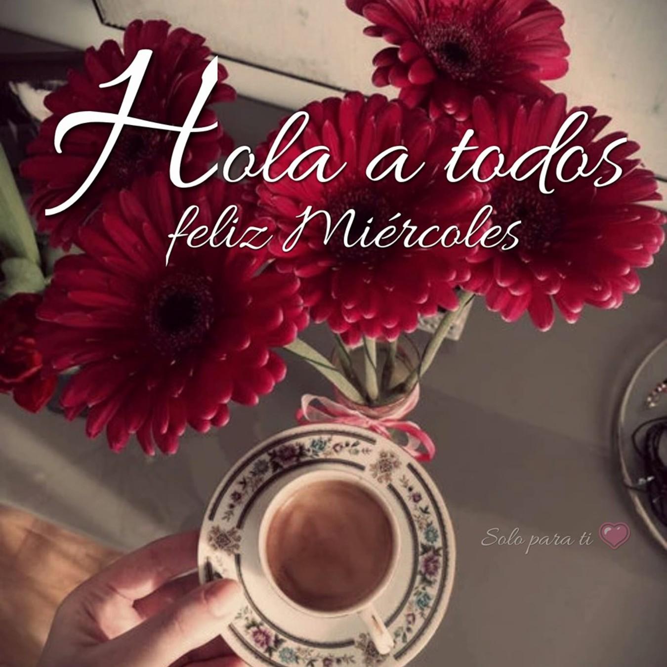 Feliz Miércoles con café imágenes lindas 165