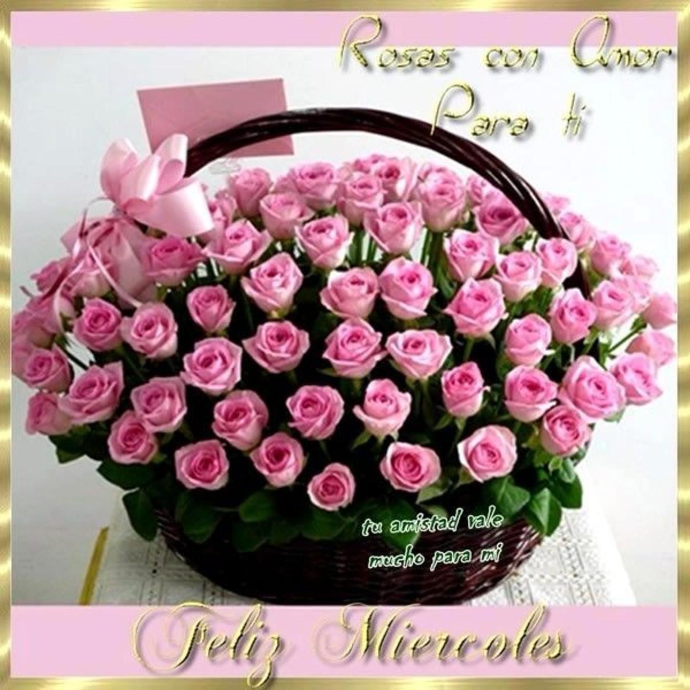 Feliz Miércoles con rosas 269