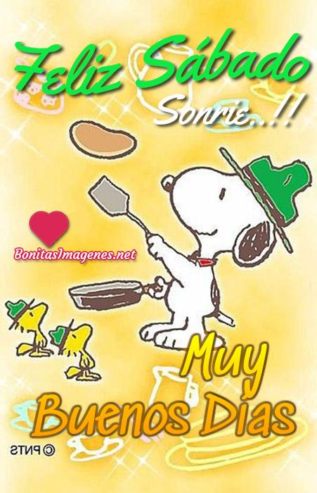 Feliz Sábado imágenes nuevas con Snoopy