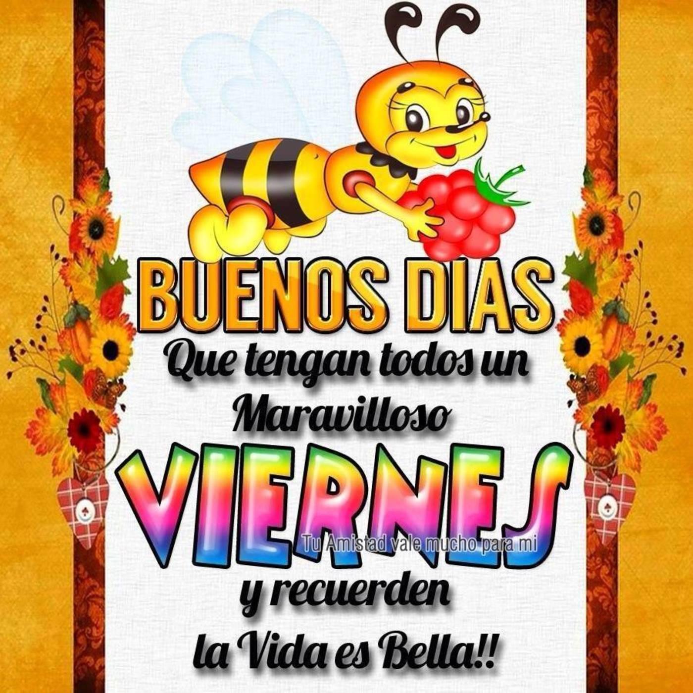 Feliz Viernes Imagenes Y Frases Facebook 297 Bonitasimagenes Net