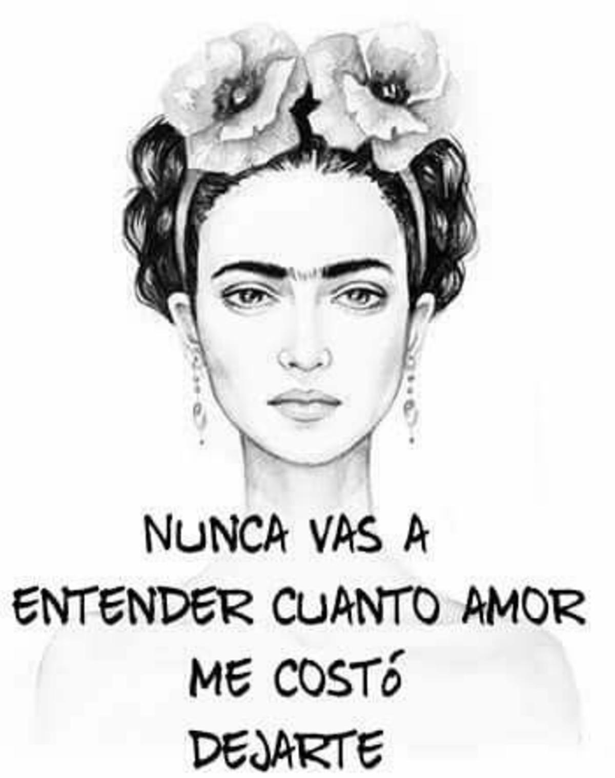 Frases Frida Kahlo Bonitasimagenesnet