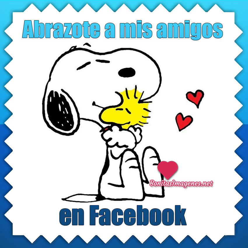 Imágenes de Abrazos para tus amigos en Facebook
