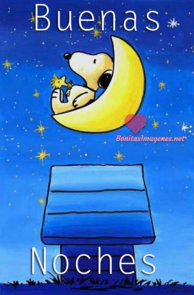 Snoopy Buenas Noches