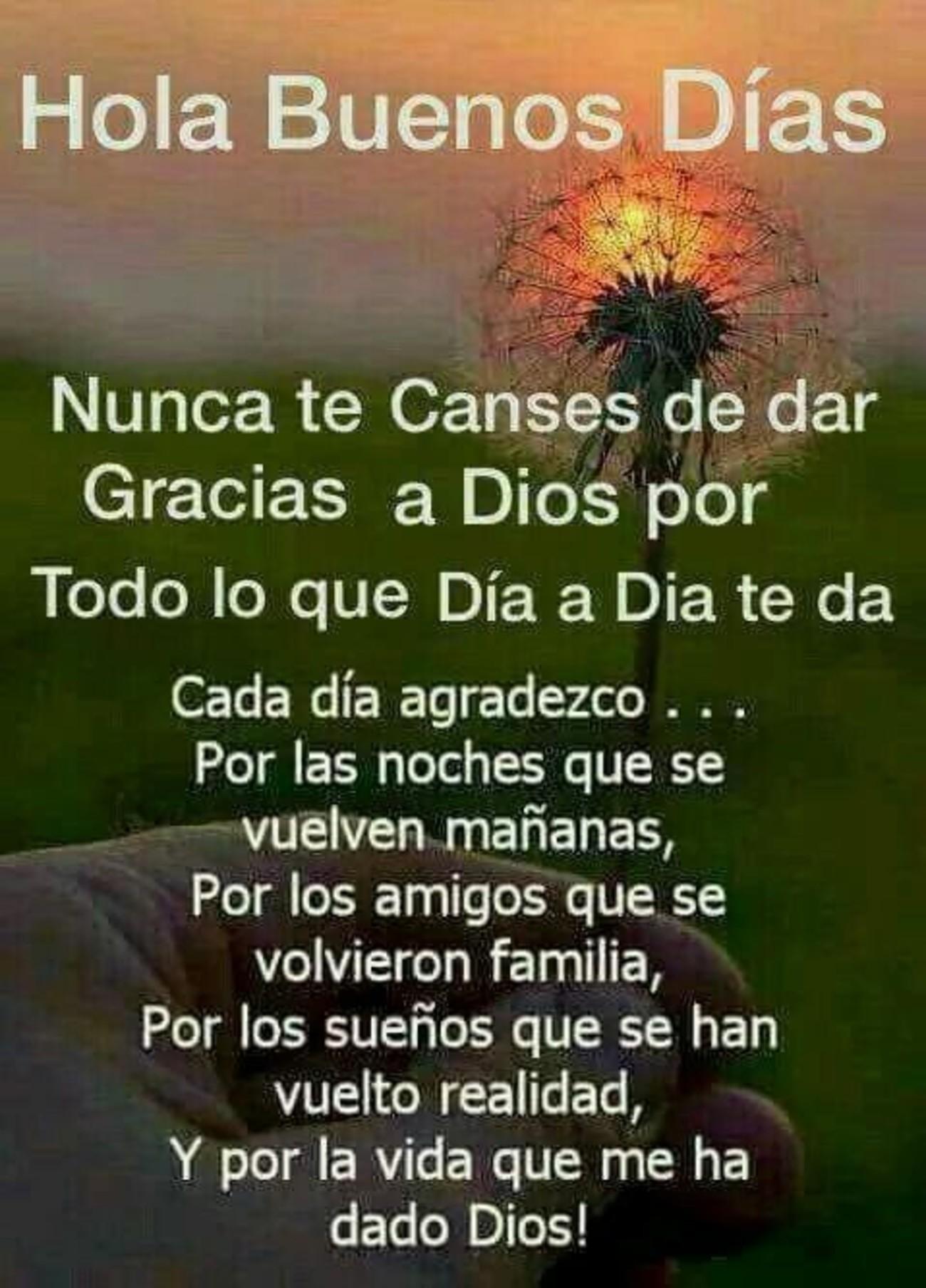 Buenos Días Facebook 740