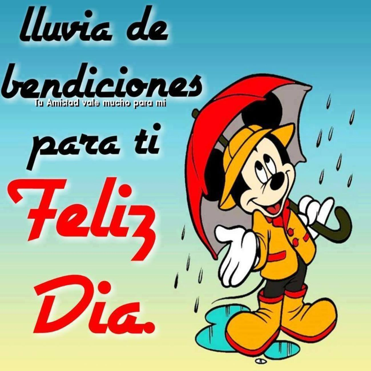 Feliz Dia con lluvia 982