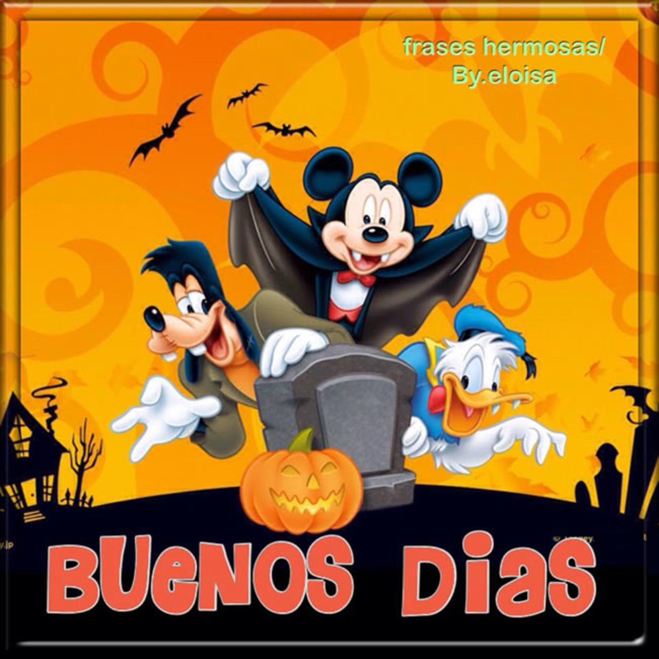 Halloween Buenos Dias 529