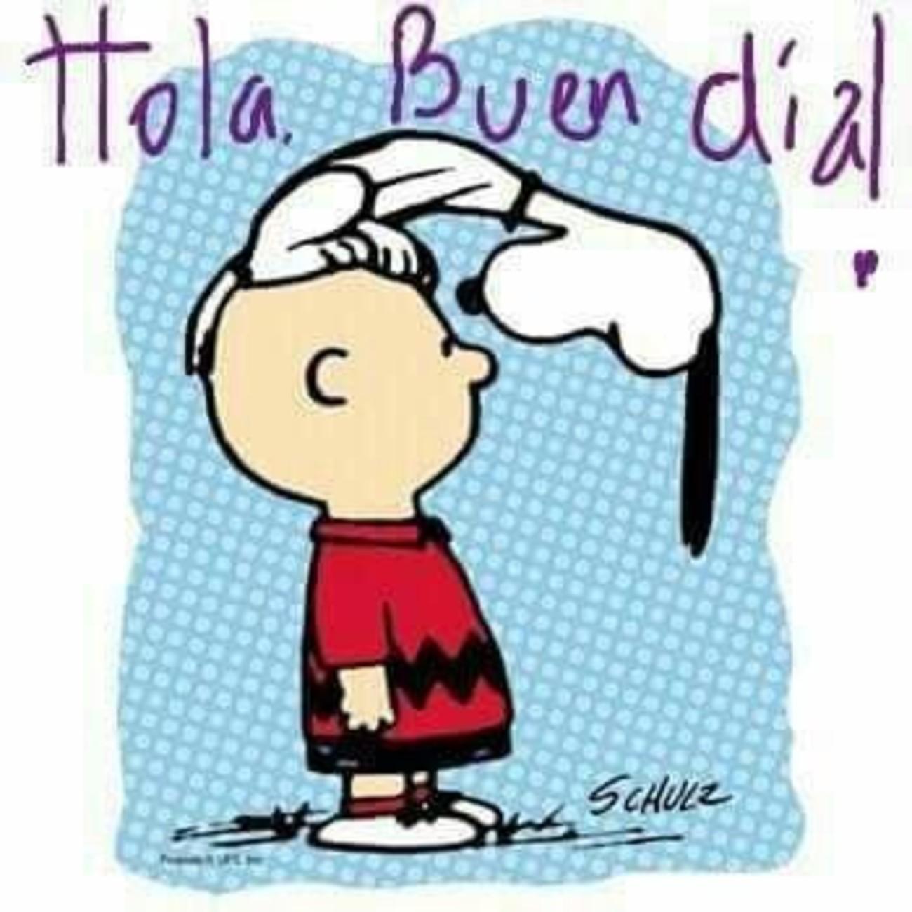 Hola Buen Dia Snoopy 653