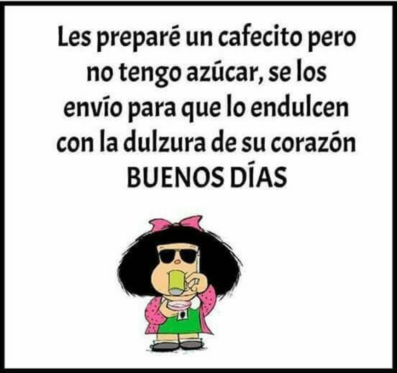 Mafalda Buenos Dias 773